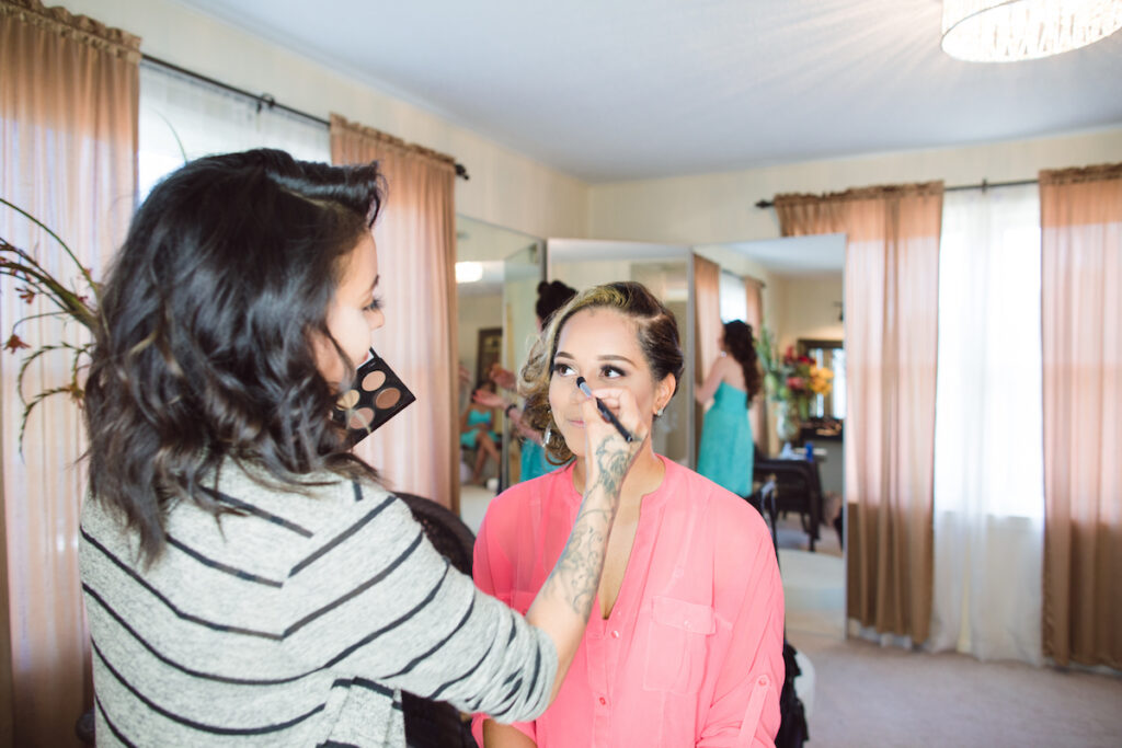 Makeup Service in Bridal Cottage